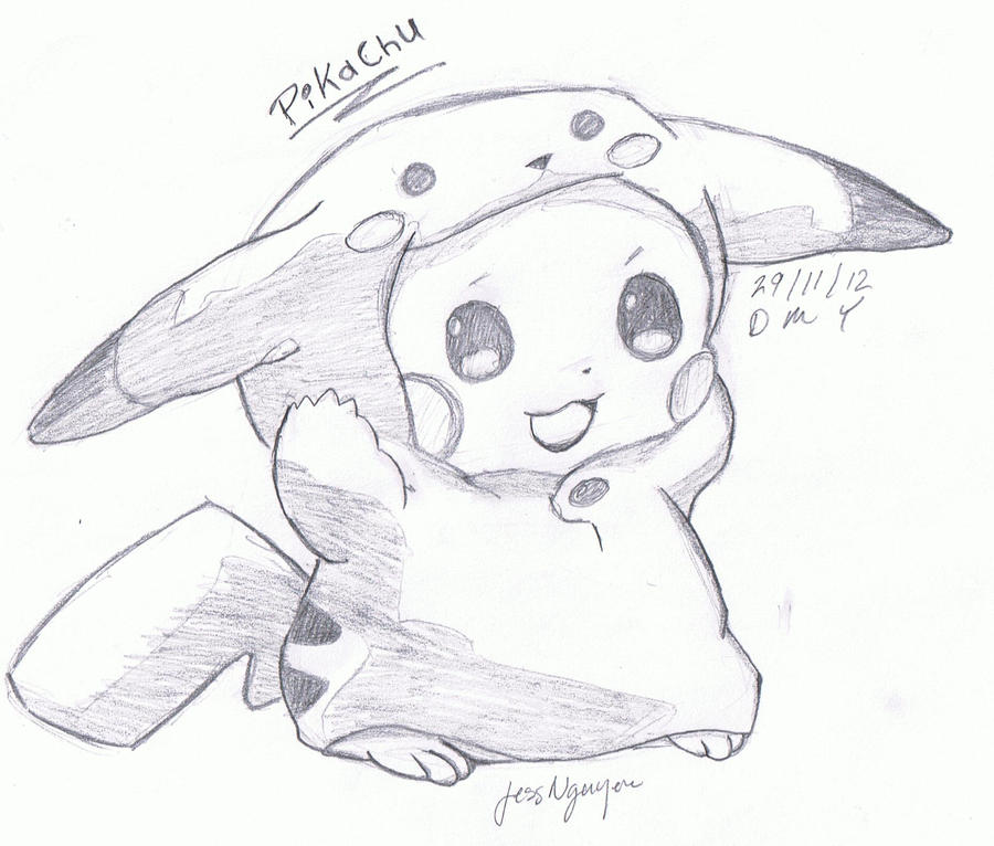 Pictures Of Cute Pokemon Drawings In Pencil Kidskunst Info