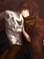 Ellias and Chise by Lairis