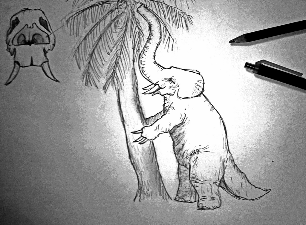 Bipedal Elephant ! by kamarodu21