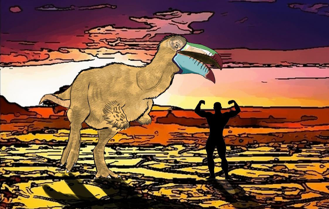 Giganoduck ~Duck revenge~ by kamarodu21