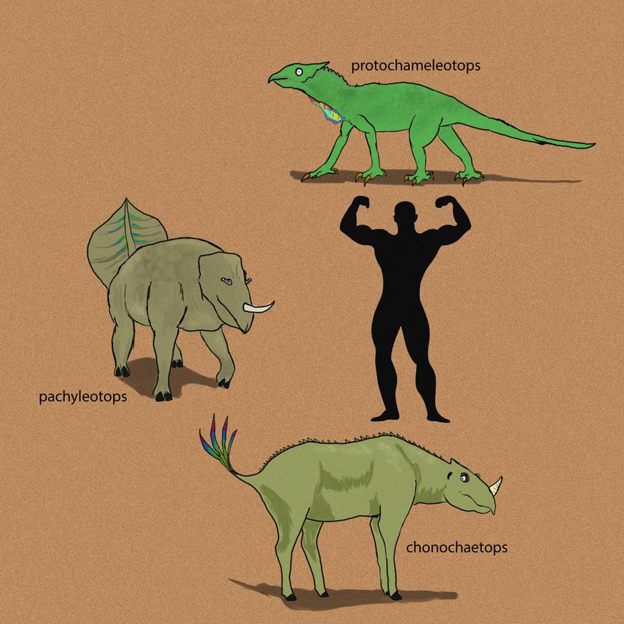 Chameleotops ~~Chamaeleonidae revenge 2~ ! by kamarodu21