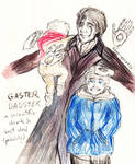 :Humantale: Dadster and skelesons