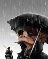 Smoky Rain by TehBobcat