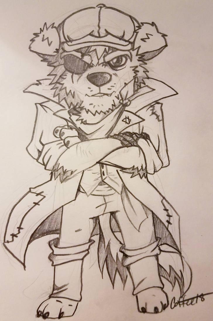 Furry Ethan doodle by TehBobcat