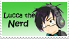 Lucca the Nerd Stamp by VassalKaeru