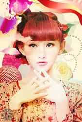 Mix Media: japanese style