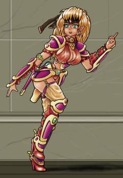 Lara princez Frasko illustration