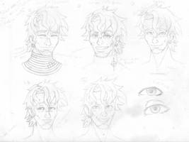 Never Stop Smiling (Character Design Sketches) by Pbuckley