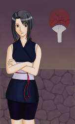 Uchiha Natsume -Collab- by Quantum-Mechanics