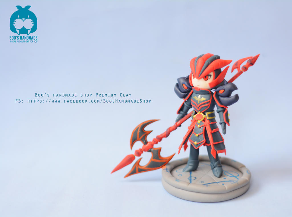Laika - Summoners War handmade figure by Booshandmadeshop