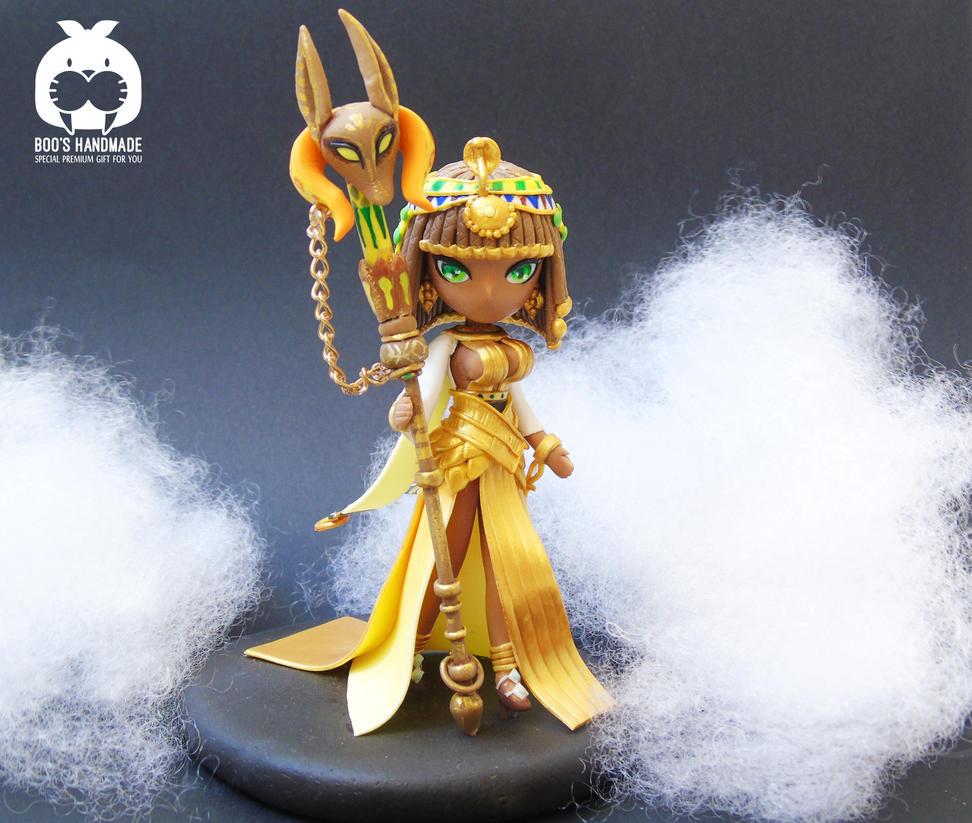 Summoners War Hathor - Wind Desert queen by Booshandmadeshop