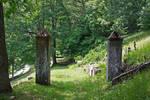 Stone Pillars Stock
