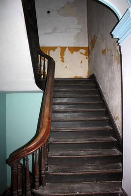 Wooden Staircase Trans-Allegheny Lunatic Asylum