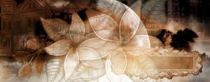 Brown Flower Texture