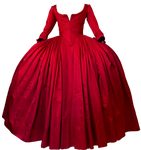 Claire Fraser's Paris Red Dress Png