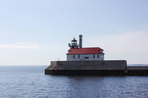 Duluth, Minnesota Harbor Lighthouse Stock by DLR-Designs