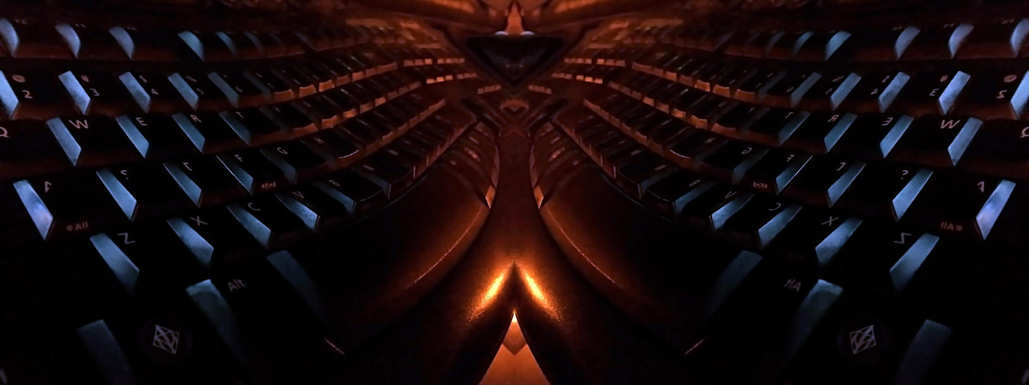 Keyboard Phoenix by naytron7