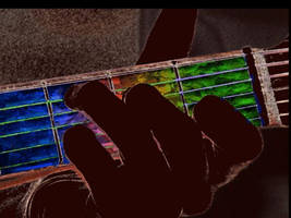 Psychedelic Guitar by mushroomGOD121