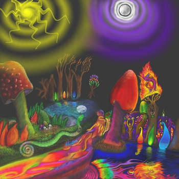 The Enchanted Threshold by mushroomGOD121
