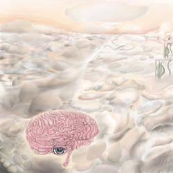 Brain In the Sky Shadow by mushroomGOD121
