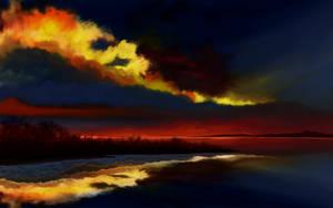 Golden Cloud by MarianthiZ