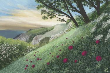 Green Hills by MarianthiZ