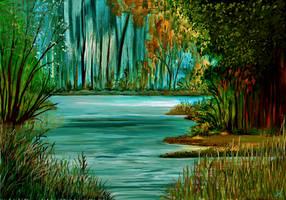 Fantasy Forest by MarianthiZ