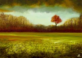 Green Field by MarianthiZ
