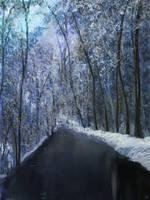 Winter Scene - Apr 18 2019 by MarianthiZ
