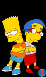 Bart-milhouse