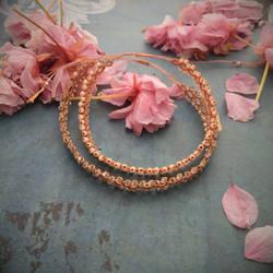 Minimalistic bracelets Coral Mandala