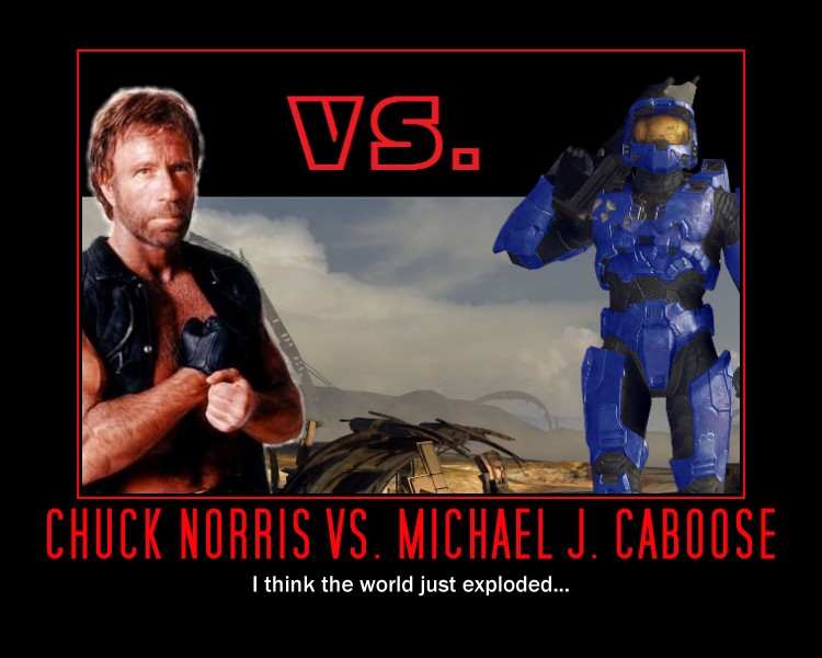 Chuck Norris Vs  Caboose by ProfessorNature on DeviantArt