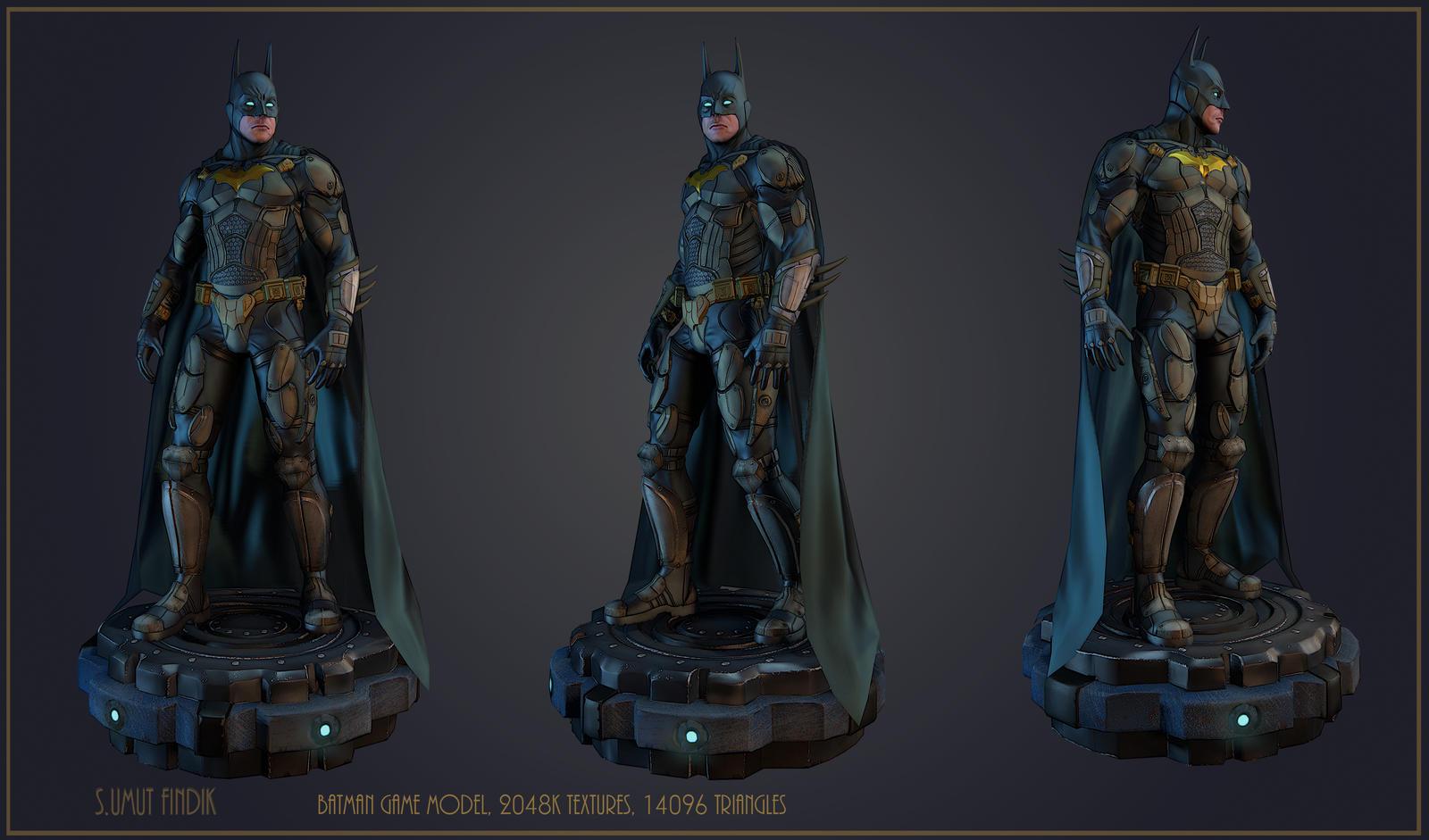 Batman Game Model by sumutf