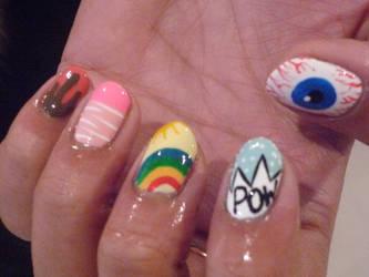 Nice Nails Mixup 1 by AyumiCoza