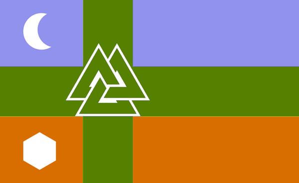 Flag of Fenrail by Mryayayify