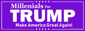 Millenials for Trump