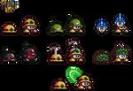 Mega Man X9/Rockman X9: Metools and variants
