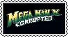 Mega Man X: Corrupted Stamp by Mryayayify
