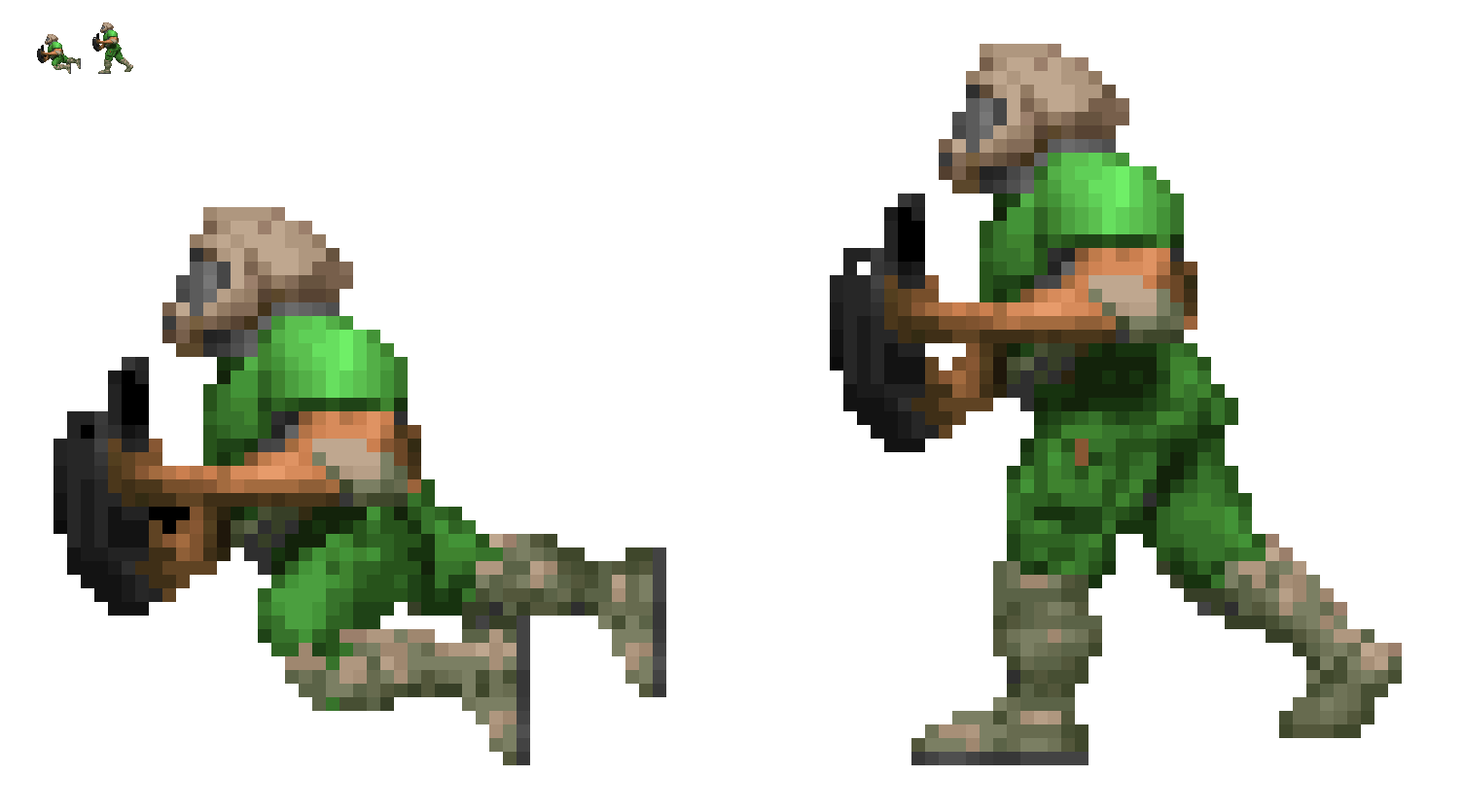 Doom Concept Sprite Dashing By Mryayayify On Deviantart