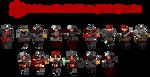 DOOM-style Concept: Halo Human Banished Enemies by Mryayayify