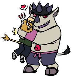 the roughest hugs by kokorogensou