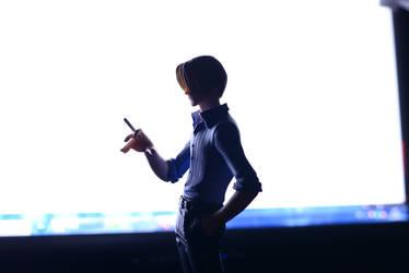 Sanji's silhouette