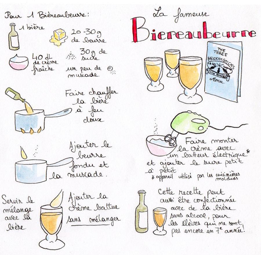 Bierreaubeurre - Butterbeer by JuneSunshine