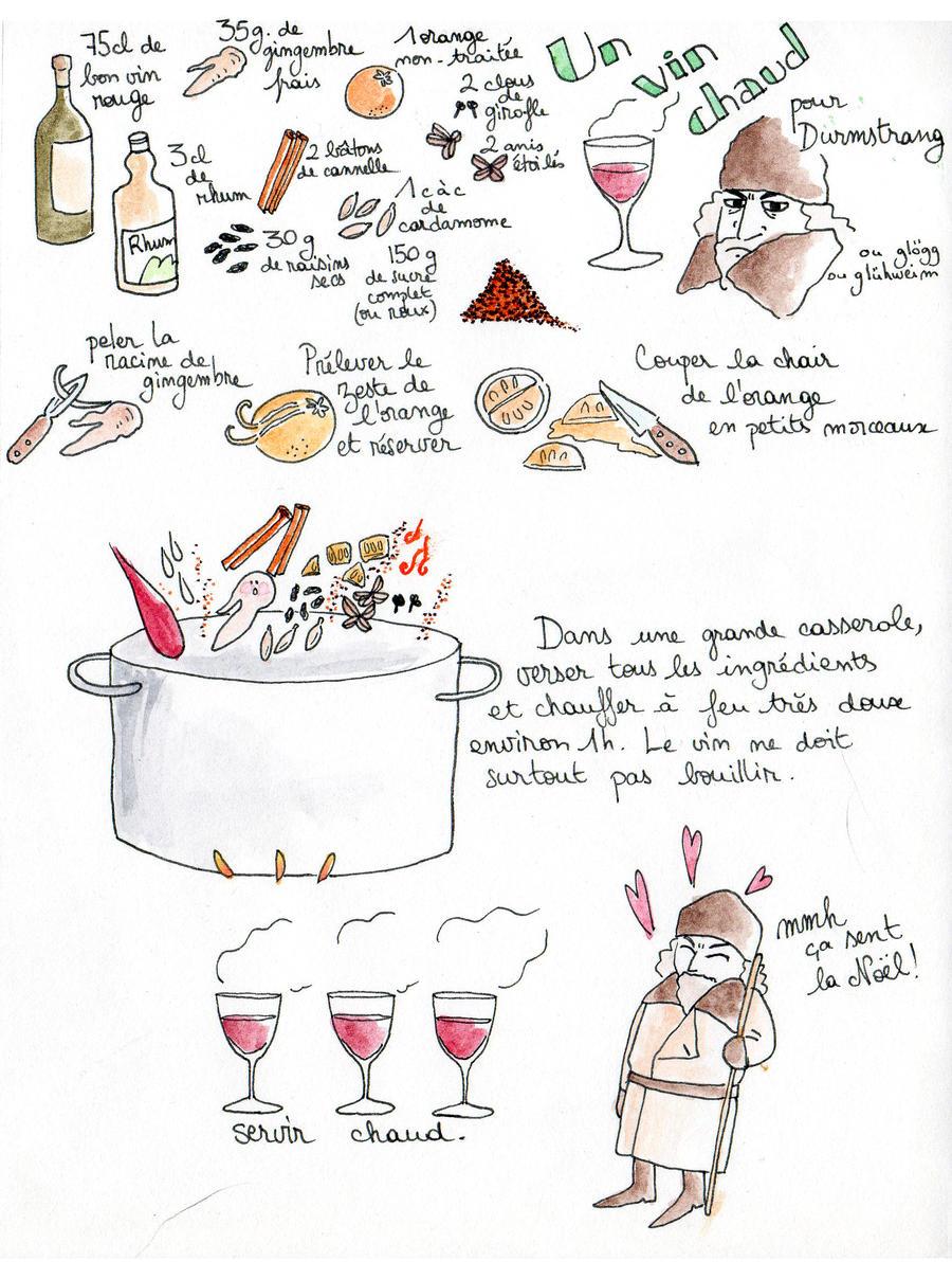 Vin chaud - Hot wine by JuneSunshine