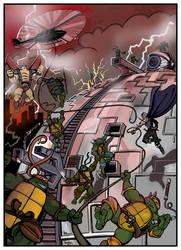 TMNT - World's Collide by ArseniyDubakov