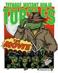 TMNT The Movie Raphael T-Shirt