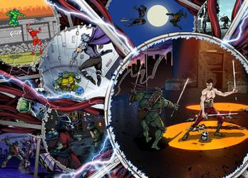 Ninja Turtles Multiverse by ArseniyDubakov
