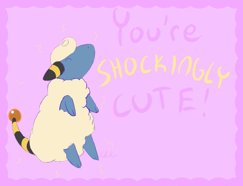 You're SHOCKINGLY Cute by KidaKuro