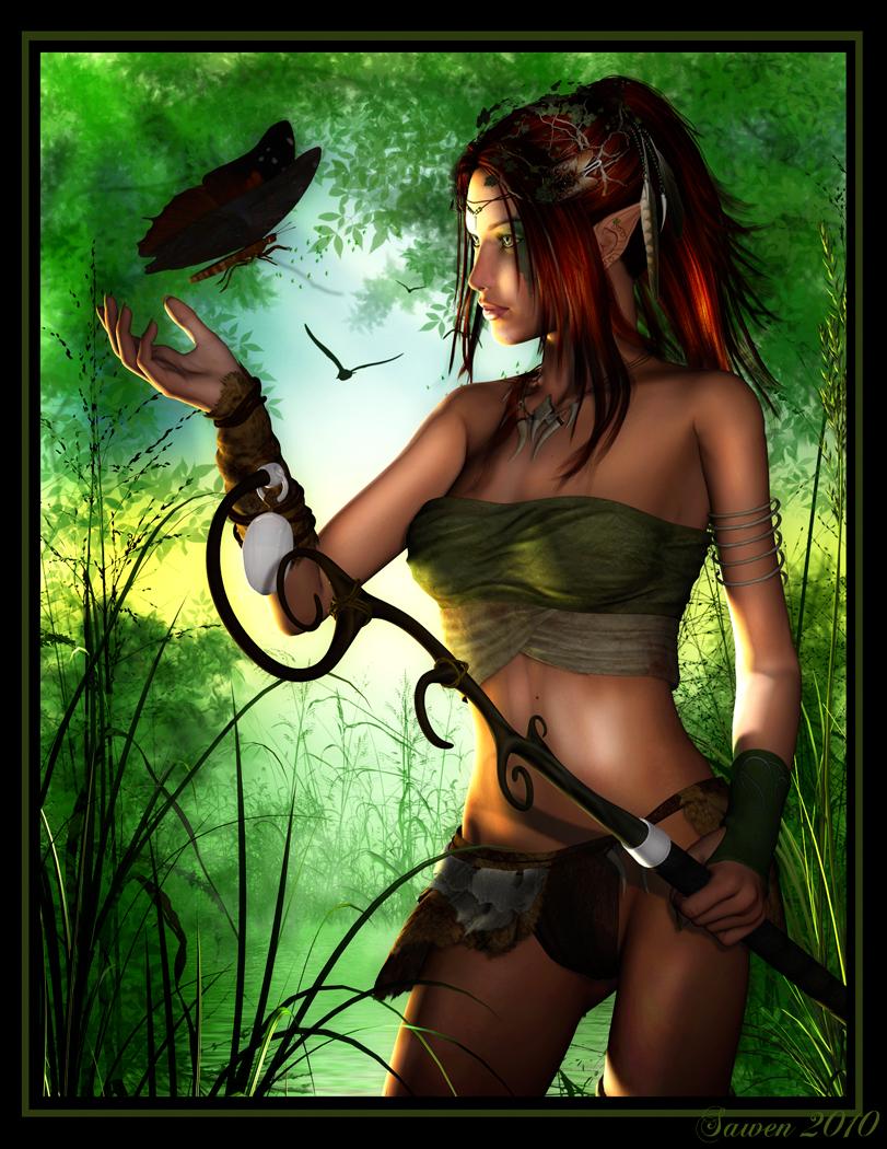 Druid by Najescha