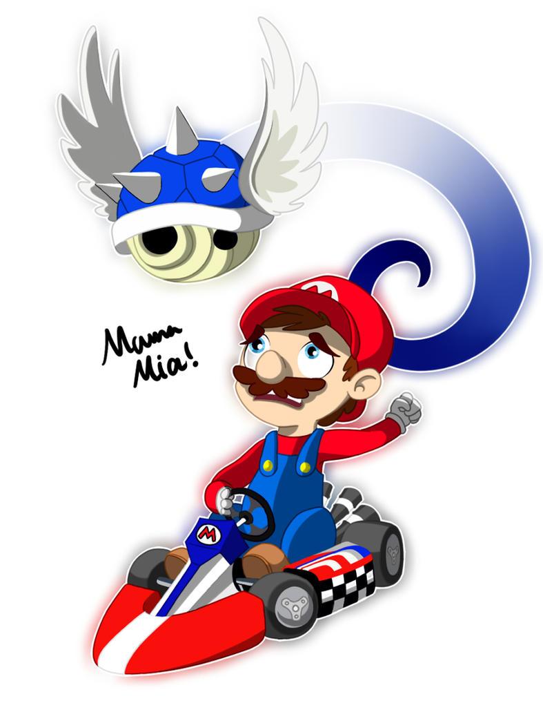 Mario Kart Wii by Rovaa